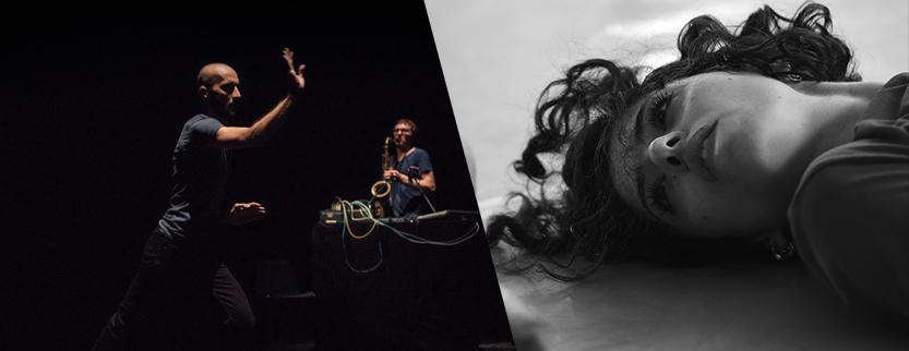 Daniele Ninarello/Dan Kinzelman e Spellbound Contemporary Ballet insieme al Teatro Biblioteca Quarticciolo 4 e 5 gennaio ore 21.00
